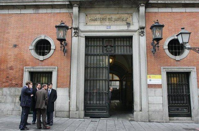 Recurso de la fachada del Ministerio de Justicia