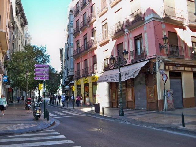 calle de Don Jaime I, esquina Espoz y Mina