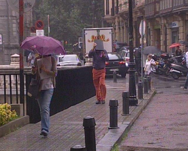 vuelven las lluvias a Bilbao R