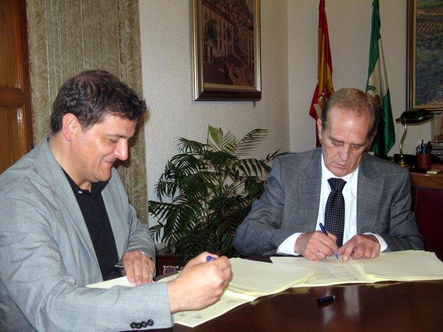 El director general del Consorcio 'Fernando de los Ríos', Juan Francisco Delgado