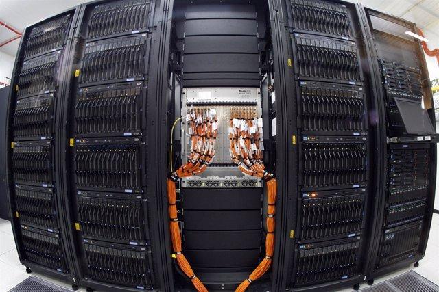 Imagen del supercomputador