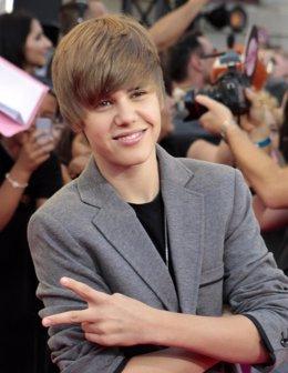 Justin Bieber, joven cantante canadiense