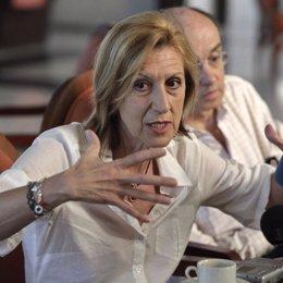líder de Unión, Progreso y Democracia (UPyD), Rosa Díez,