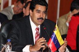 El ministro de Exteriores de Venezuela, Nicolás Maduro.