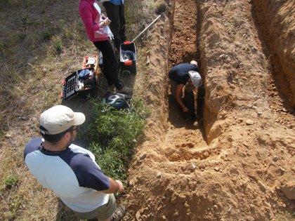 Este sábado se abre la fosa común en Aranda del Duero (Burgos) localizada gracias a quien escapó de ella