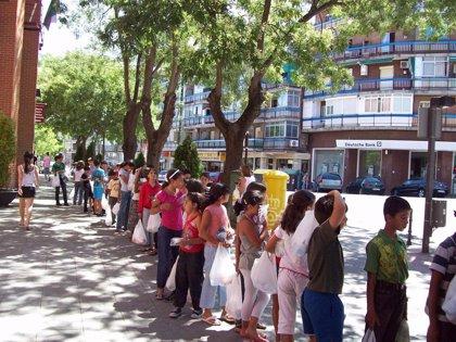 Comunidad Palestina despide a los ocho niños que han estado durante 20 días de vacaciones en Gran Canaria