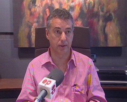 Urkullu pide a los imputados por corrupción que reflexionen sobre el daño a PNV y dice que dar el carnet no es acusación