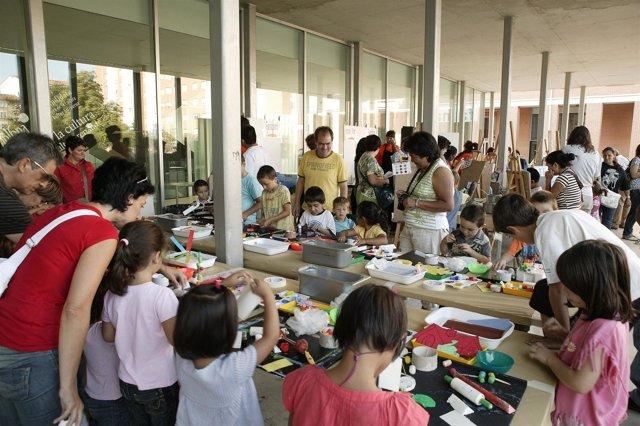 Actividades del programa 'Plasticando 2009' .