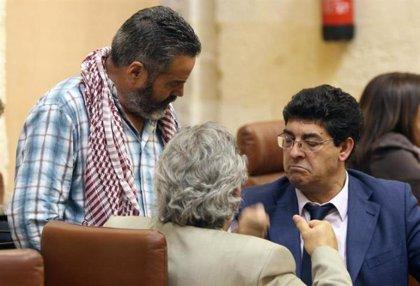 Valderas garantiza que el grupo parlamentario de IULV-CA contará con mujeres después de las elecciones autonómicas