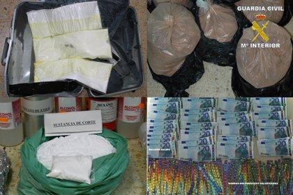 Culmina con 59 detenidos la operación contra la red que introducía cocaína en España en botes de champú, cacao y maletas