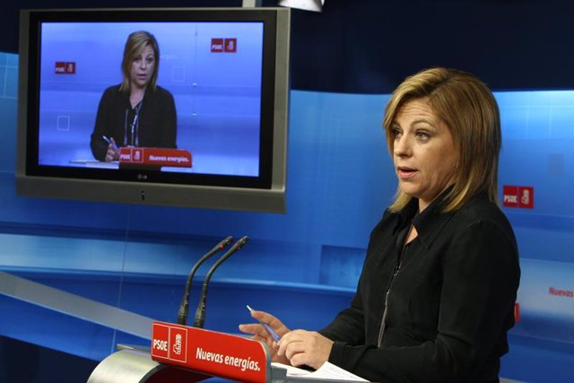 secretaria de Política Internacional del partido, Elena Valenciano