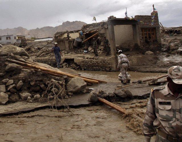 INDIA-FLOODS/ Inundaciones en la India