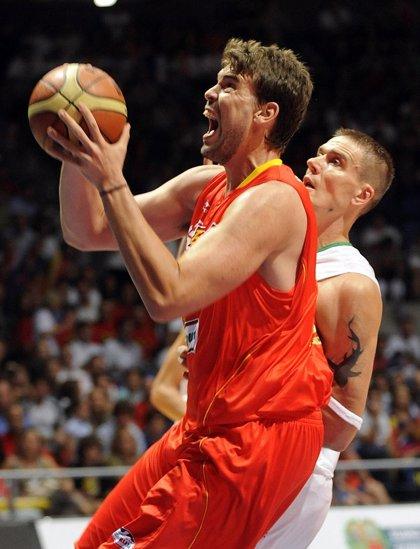 España exhibe su talento ante Lituania en su vuelta al País Vasco