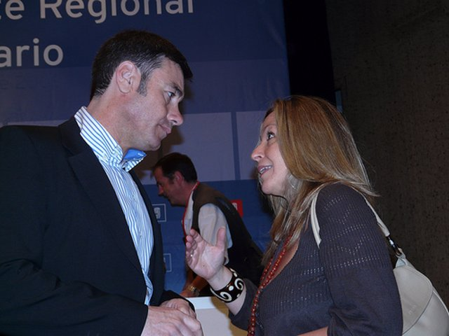 Tomás Gómez y Trinidad Jiménez