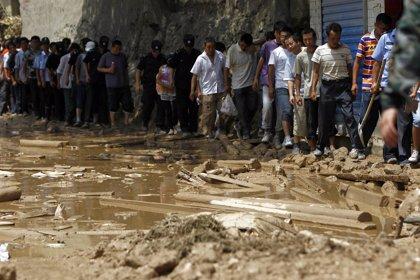 Más de 300 muertos por un alud en el noroeste de China