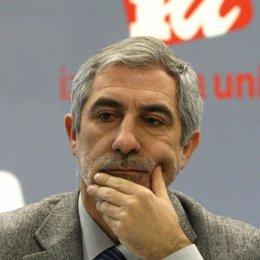 diputado de Izquierda Unida (IU), Gaspar Llamazares