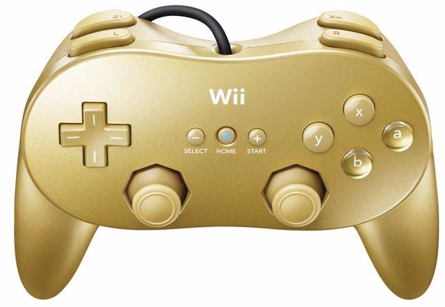 Mando dorado de Wii