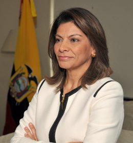 La presidenta de Costa Rica, Laura Chinchilla.