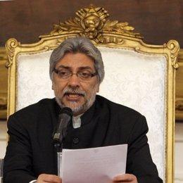 Fernando Lugo presidente de la nación paraguaya