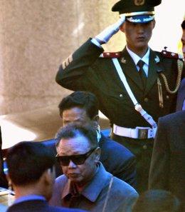 Kim Jong Il visita China