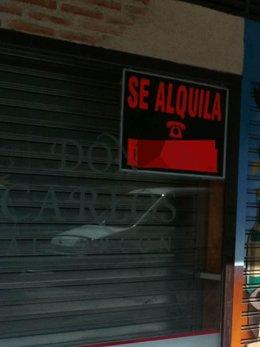 Comercio cerrado