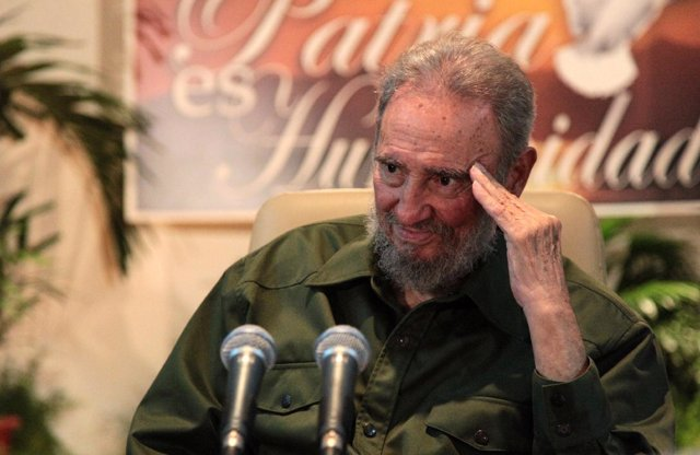 El ex presidente cubano Fidel Castro