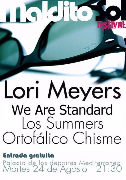 'Lori Meyers' y 'We are standard', en el II Maldito Sol Festival que se celebra este martes