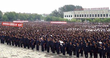 Corea del Norte agrupa tropas para la celebración de algún gran evento