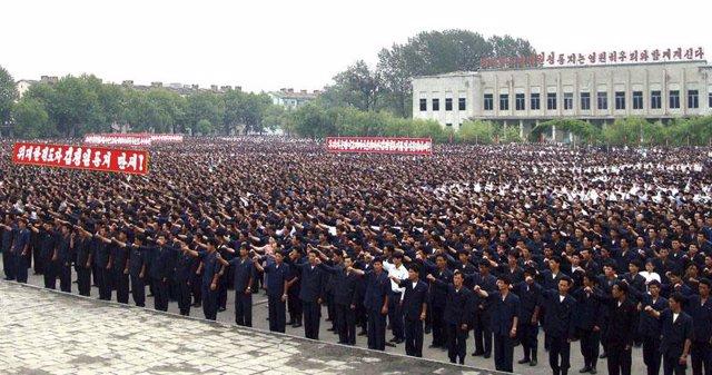 Despliegue en Corea del Norte