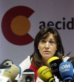 secretaria de Estado de Cooperación Internacional, Soraya Rodríguez,