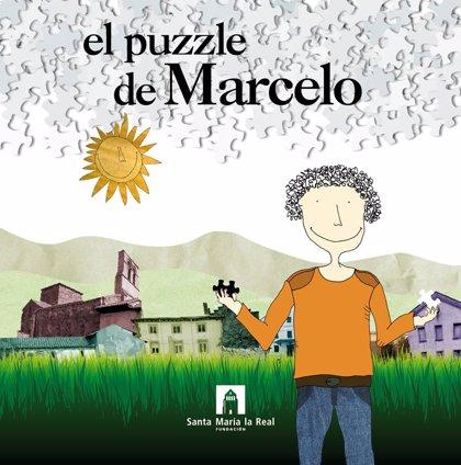 Sale a la venta otro volumen de la colección infantil de la Fundación Santa María la Real para acercar el patrimonio