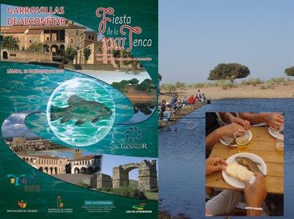 Garrovillas de Alconétar acoge la Fiesta de la Tenca con concursos de pesca y la entrega Tencas de Oro
