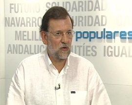 Rajoy pide a Zapatero que se ocupe del paro en vez de rescatar el Estatut