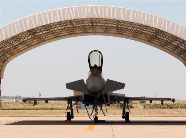 Eurofighter en la base de Morón de la Frontera