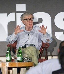 El cineasta Woody Allen en Asturias