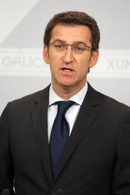 O presidente da Xunta, Alberto Núñez Feijóo, fará unha declaración instituciona