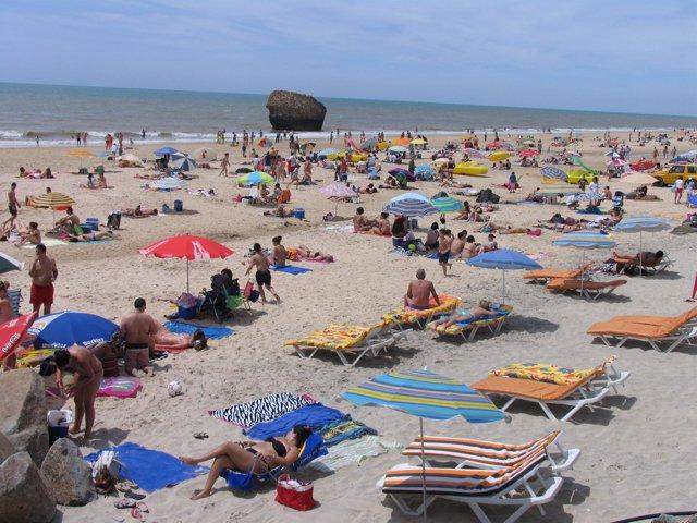 Imagen de la playa de Matalascañas (Huelva)