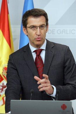 Alberto Núñez Feijóo, presidente de la Xunta