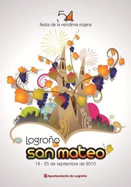 Cartel San Mateo Logroño 2010