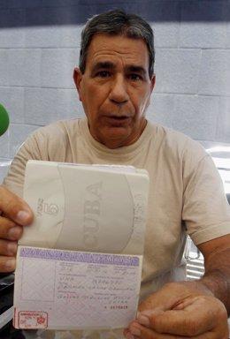Julio César Gálvez, ex preso de Cuba