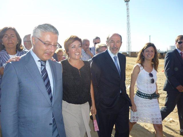 El ministro José Blanco, hoy en Cádiz