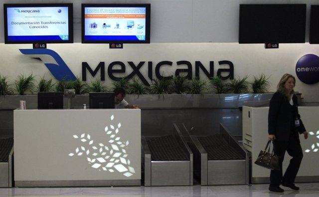 Recurso de la aerolínea Mexicana de Aviación