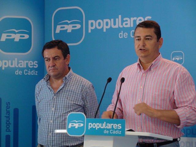 Antonio Sanz y José Loaiza, en rueda de prensa