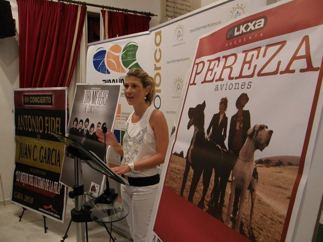 La concejal de Cultura del Ayuntamiento de Lorca, Rosa Medina