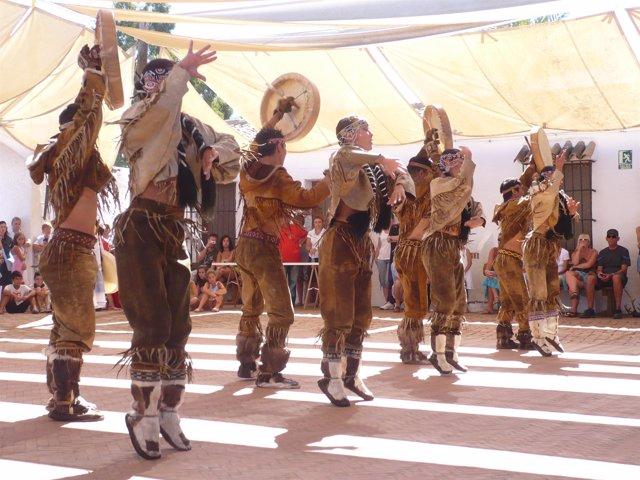Imagen del Festival de Danzas de Villablanca