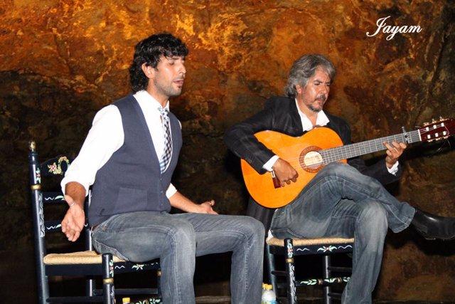 Actuación del cantaor Arcángel