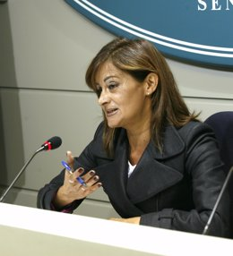 portavoz del PSOE en el Senado, Carmela Silva