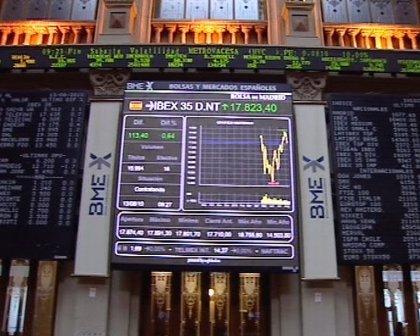 Economía/Bolsa.- El Ibex 35 abre a la baja (-0,4%) pero continúa en la cota de los 10.000 puntos