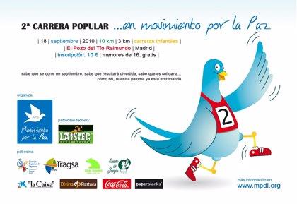 EL Movimiento por la Paz organiza la II Carrera Popular en Madrid