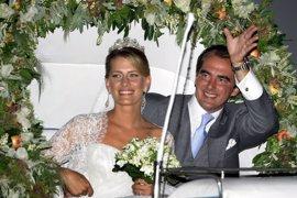 La gran boda griega del príncipe Nicolás y Tatiana Blatnik